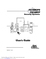 First Alert FA168CPS Series Manuals