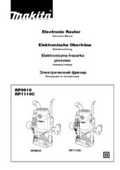 Makita RP1110C Manuals