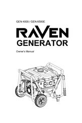 Raven GEN 6500E Manuals