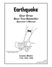 Earthquake 7050 Manuals