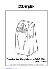Dimplex DAC 12001 Manuals