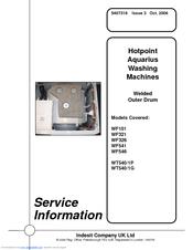 Indesit WF326 Manuals
