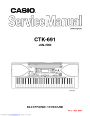 Casio CTK-691 Manuals
