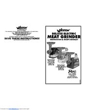 Weston 82-0102-W Manuals