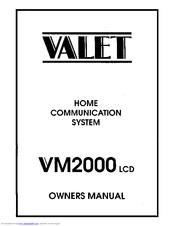 Valet VM2000 Manuals