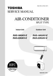 Toshiba RAS-18N3KV-E Manuals