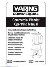 Waring BB185SE Manuals