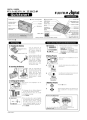 Fujifilm Finepix Z20 Manuals