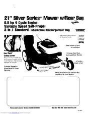 Lawn-boy Silver Series 10360 Manuals