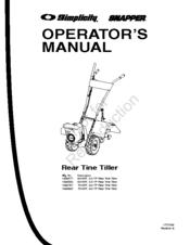 Simplicity 7016 RT Manuals