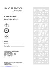 Harsco Industrial P-K THERMIFIC N1000 Manuals