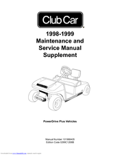 Club Car 1998 DS Manuals