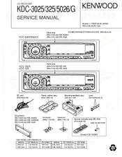 Kenwood KDC-5026 Manuals