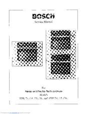 Bosch HBN 74.. Manuals