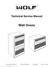 Wolf Wall Ovens Manuals