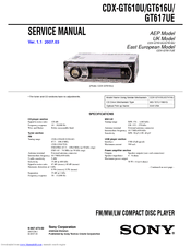 sony cdx gt610ui wiring diagram foot massage therapy gt610u 30 images 831450 cdxgt610u product manuals at highcare asia