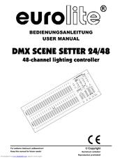 Eurolite DMX Scene Setter 24/48 Manuals