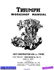 Triumph Bonneville T120 Manuals