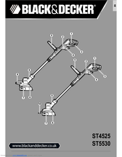 Black & Decker ST5530 Manuals