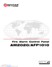 Notifier AFP1010 Manuals