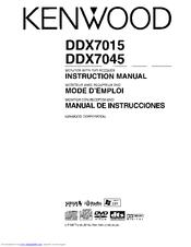 Kenwood DDX7035 Manuals