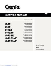 Genie S-65 Manuals