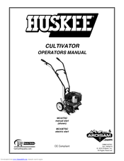 Huskee MC43TSC Manuals