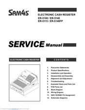 Sam4s ER-5140 Manuals