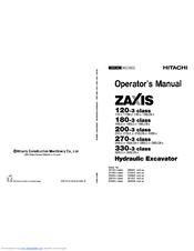 Hitachi ZAXIS 200-3 class Manuals
