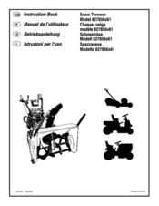 Murray 624555x61 Manuals