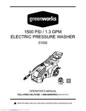 Greenworks 1500 PSI Manuals