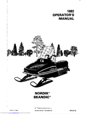 Ski-doo SKANDIC Manuals