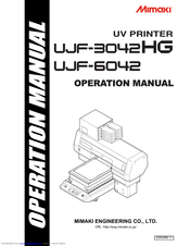 Mimaki UJF-6042 MkII Manuals