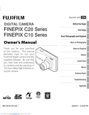 Fujifilm FINEPIX C10 Series Manuals