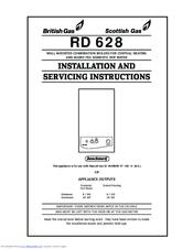 British Gas RD 628 Manuals