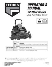 Ferris 5901011 Manuals