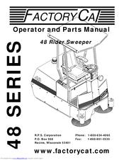 Factory Cat 48 Series Manuals