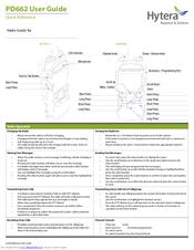 Hytera X1p Manuals