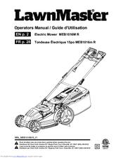 Lawnmaster MEB1016M R Manuals