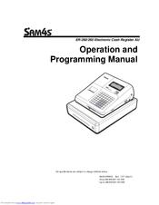 Sam4s ER-265 Manuals