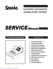 Sam4s ER-380F Manuals
