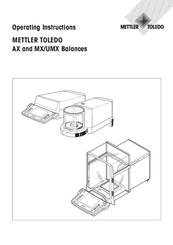 Mettler Toledo MX5 Manuals