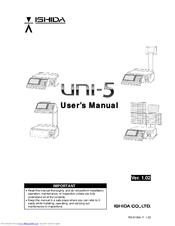Ishida Uni-5 Manuals