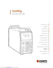 Kemppi FastMig KM 500 Manuals