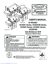 Vermont Castings Signature VCS401 Series Manuals
