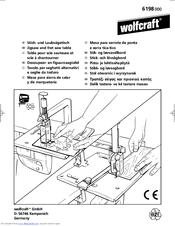 Wolfcraft Jigsaw 6198 Manuals