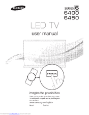 Samsung UN40D6400 Manuals