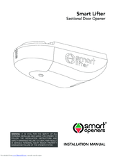 Smart Openers Smart Lifter Manuals