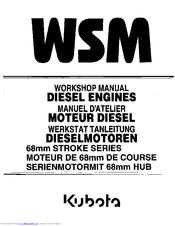 Kubota D722-E Manuals
