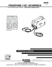 lincoln electric welder parts diagram jvc stereo wiring pro mig 180 manuals operator s manual